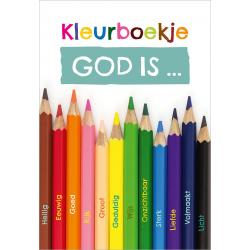 Nederlands, Kinderkleurboek, God is..., Gerda Hiemstra-Oudenampsen