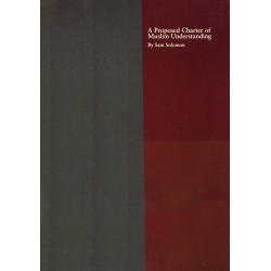 Engels, Brochure, A Proposed Charter of Muslim Understanding, Sam Solomon