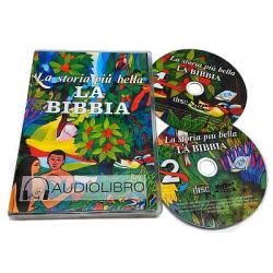 Italiaans, Kinderbijbel-CD, De mooiste geschiedenis van de Bijbel, Erma Wiens & Valeria Brentan