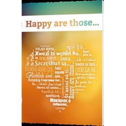 Engels, Brochure, Gelukkig is..., Petra Schaadt
