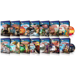 Meertalig, Kinder DVD, Set Fakkeldragers (12)