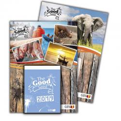 Engels-Afrikaans, Kalender, Het Goede Zaad, Blok en Schild, 2019