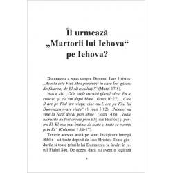 Roemeens, Brochure, Volgen Jehovah-getuigen Jehovah? S. Hadley