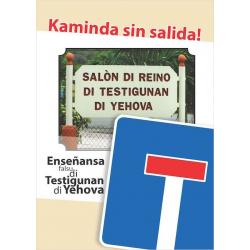 Papiaments, Traktaat, Gevaarlijk - leer v.d Jehova's Getuigen, Erwin H.W. Luimes