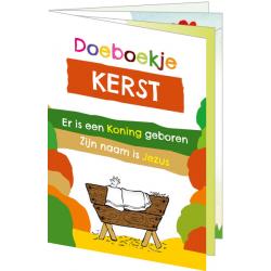 Nederlands, Kinderkleurboek, Kerst, Gerda Hiemstra-Oudenampsen