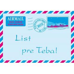 Slowaaks, Brochure, Een brief voor jou!