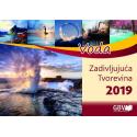 Kroatisch, Kalender, De Schepping, 2019