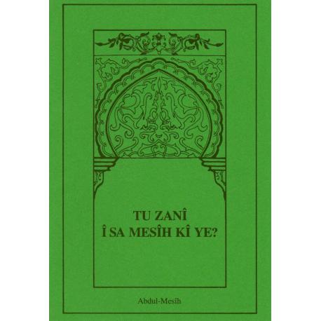 Koerdisch-Kurmanzji, Brochure, Wat denkt u van de Christus? Abd-al Masih.
