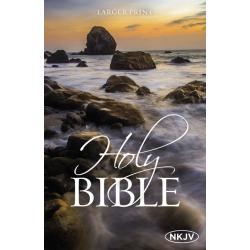 Engels, Bijbel, NKJV, Groot formaat, Paperback