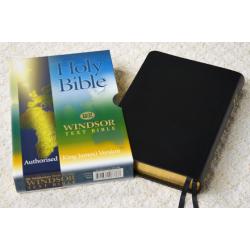 Engels, Bijbel, KJV, Groot formaat, Leer