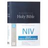 Engels, Bijbel, NIV, Groot formaat, Harde kaft, Blauw
