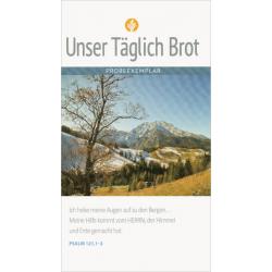 Duits, Bijbels dagboekje, Ons dagelijks brood