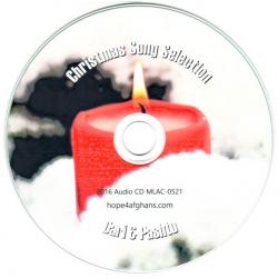 Pasjtoe, CD, Kerstliederen