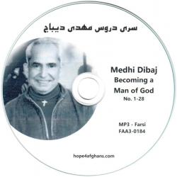Farsi/Perzische, CD, Een kind van God worden, Mehdi Dibaj
