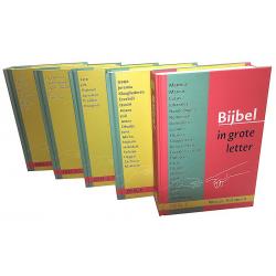NedNederlands, Bijbel, NBV, Groot Letter Bijbel