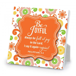 Engels, Gifts, Tekstbord, Be Joyful