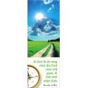 Nederlands, Boekenlegger, Al ken ik de weg niet, Maarten Luther