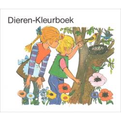 Nederlands, Kinderkleurboekje, Dierenkleurboek