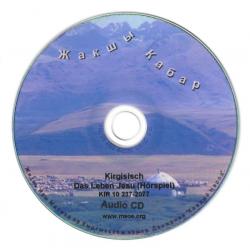 Kirgizisch, Audio-CD, Het leven van Jezus