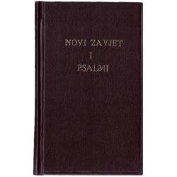 Kroatisch, Nieuw Testament & Psalmen, Klein formaat, Harde kaft