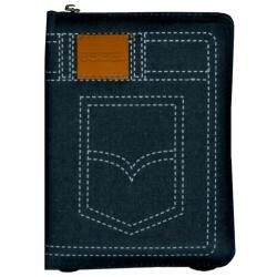 Papiamento, Bijbel, Koriente 2013, Medium formaat, Jeans kaft, Rits, Goudsnede