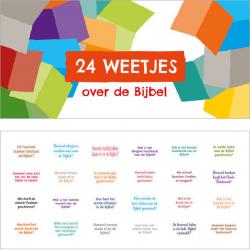 Nederlands, Luikjeskaart met Bijbelweetjes