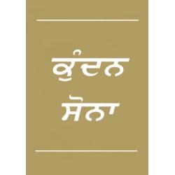 Zuiver Goud, Punjabi