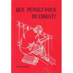 Wat denkt u over de Christus, Frans