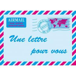 Frans, Brochure, Een brief voor jou!