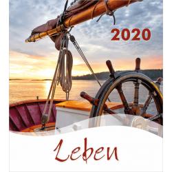 Duits, Kalender met Ansichtkaarten LEVEN