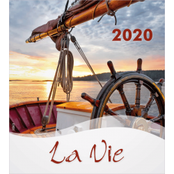 Frans, Kalender met Ansichtkaarten LEVEN