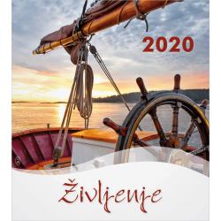 Sloveens, Kalender met Ansichtkaarten LEVEN