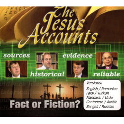 DVD, The Jesus Accounts, Meertalig