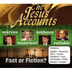 DVD, The Jesus Accounts, Meertalig