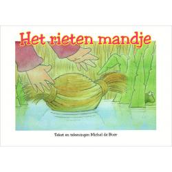 Nederlands, Kinderbrochure, Het rieten mandje, Michel de Boer