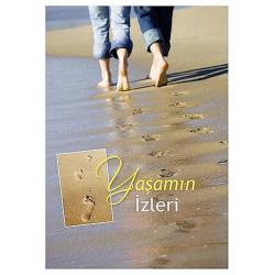 Turks, Wenskaart, Voetstappen in het zand