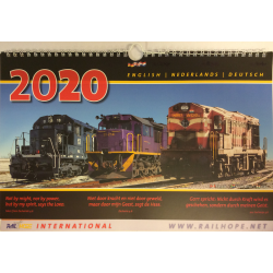 Kalender, RailHope, E,D,NL
