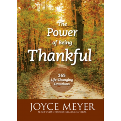 Engels, The Power of Being Thankful, Joyce Meyer