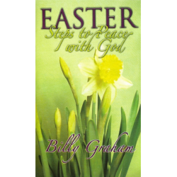 Engels, Traktaat, Easter - Steps to Peace with God, Billy Graham