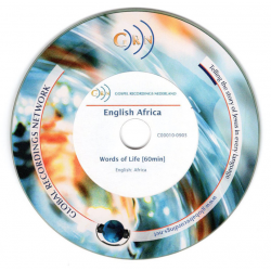 Engels: Afrikaans, audio-CD, Woorden van Leven