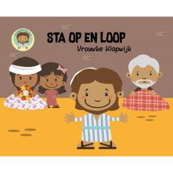 Nederlands, Kinderboek, Sta op en loop, Vrouwke Klapwijk