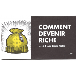 Frans, Comic strip, Hoe kan je rijk worden?