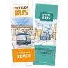 Nederlands, Brochure, Trolleybus