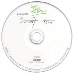Nepalees, CD, Gospelsongs