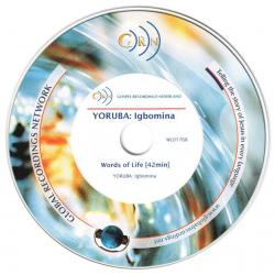 Igbo/Yoruba, CD, Woorden van Leven