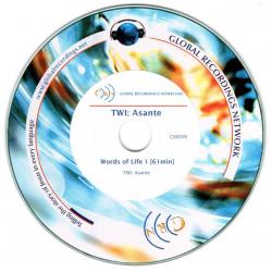 Twi-Ashante, CD, Woorden van Leven (1)