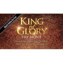 Uitdeel kaartje, King of Glory