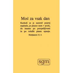 Sloveens, Brochure, Dagelijkse sterkte