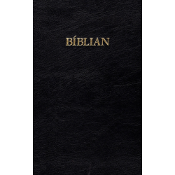 Faeröers, Bijbel, Groot formaat, Harde kaft