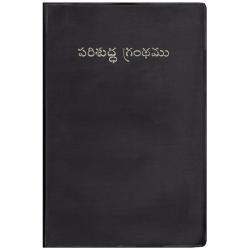 Telugu, Bijbel, Groot formaat. Soepele kaft